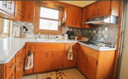 Amazing Updating Plywood Kitchen Cabinets   Painting Vs Refacing Vs Replacing