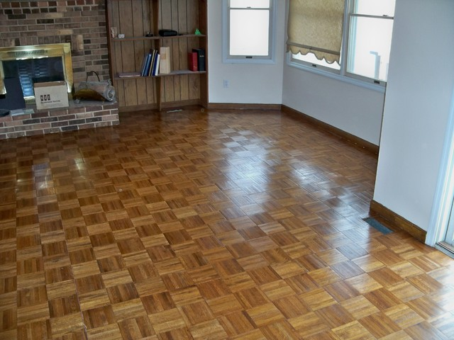 Ld Hardwood Floor Refinish Living Room St Louis By Benhardt