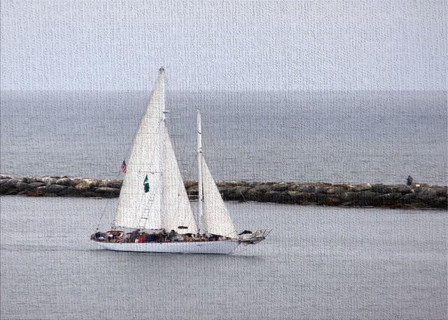 "Beach And Nautical Style 1523 Area Rug, 5'0""x7'0"""
