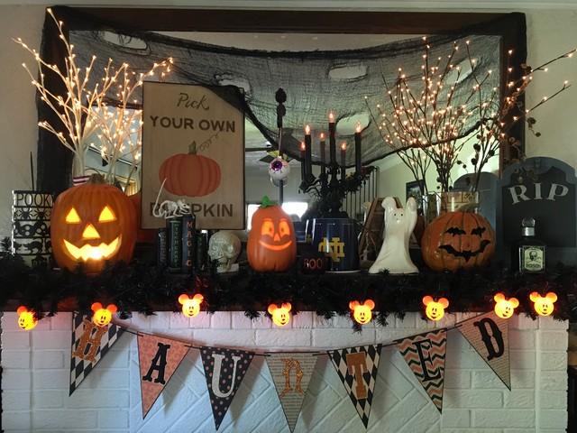 Fall & Halloween Decor