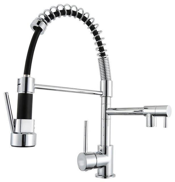 Springy Kitchen Faucet