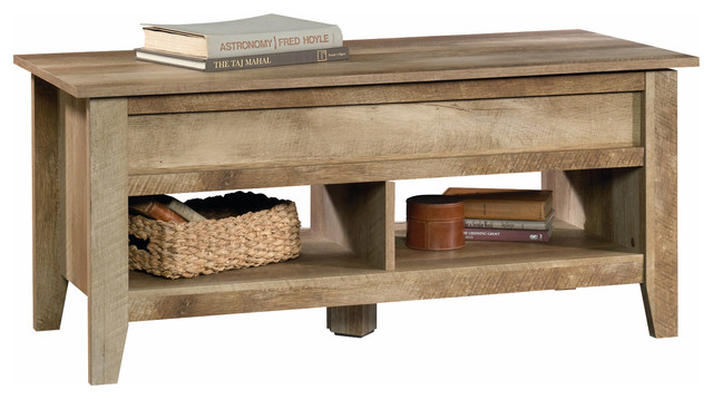 Merveilleux Bentley Lift Top Coffee Table, Craftsman Oak