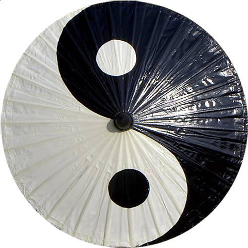 Yin and yang fashion umbrella asian home decor by for Decoration murale yin yang