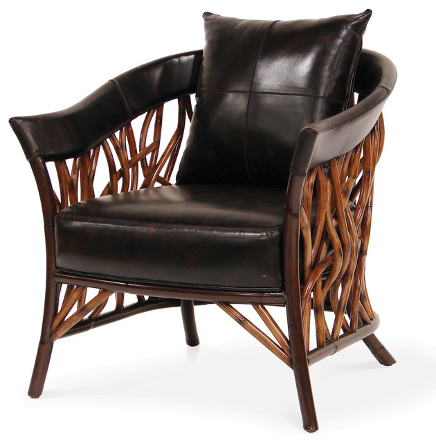 Adelaide Lounge Chair - Tropical - Armchairs And Accent ...