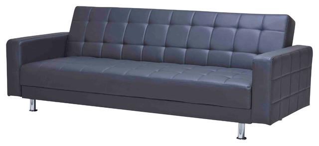 Frankfort Convertible Sofa Bed Black