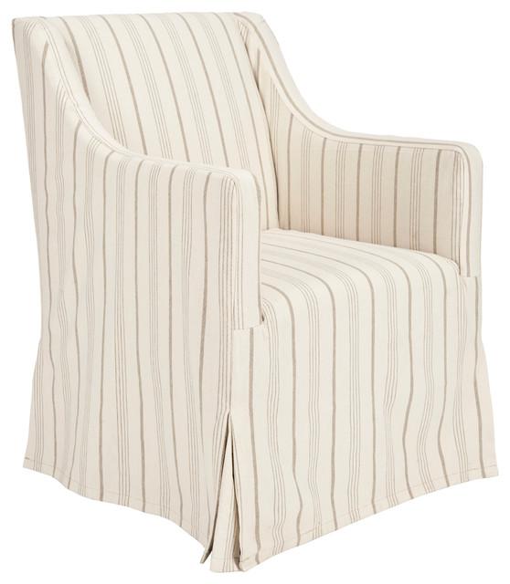 safavieh sandra slipcover chair farmhouse slipcovers. Black Bedroom Furniture Sets. Home Design Ideas