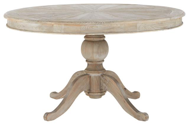 Neuilly table ronde de salle manger en bois d 140 cm - Table ronde a manger ...