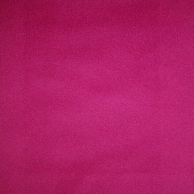 Islington Velvet Fabric, by the yard, Hot Pink, By the Yard, Soul Home