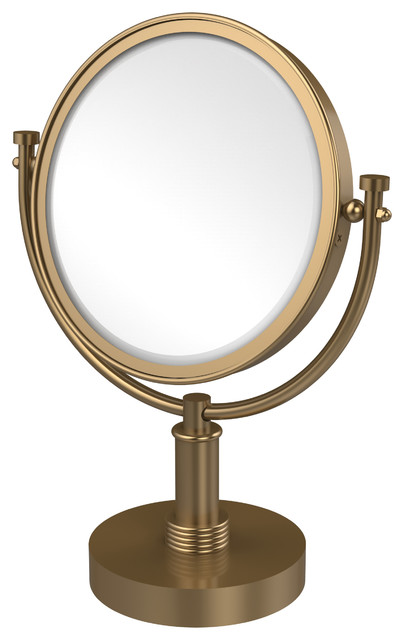 8 Quot Vanity Top Make Up Mirror Transitional Makeup