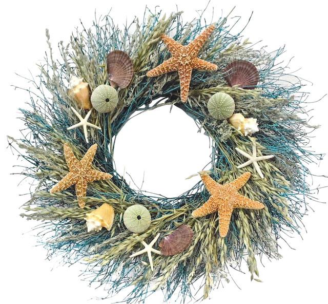 Starfish Ocean Wreath, Large