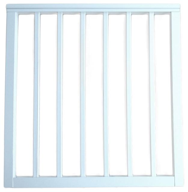 "Contractor Deck Railing 36""x42"" Aluminum Commercial Gate ..."