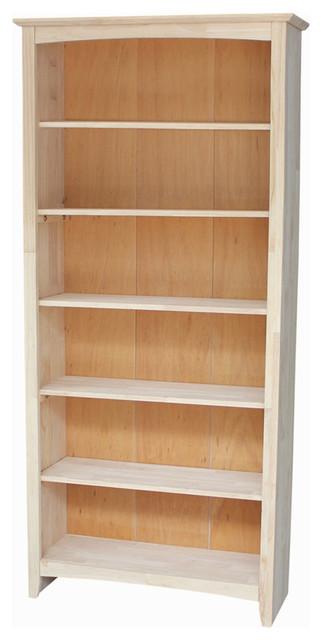 "Mason Shaker Bookcase, 72""."