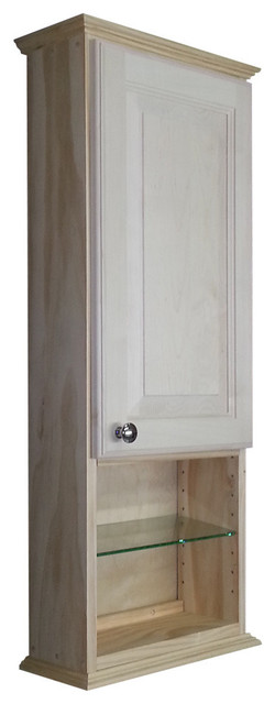 """Asheville Series On-The-Wall Cabinet, 37.5""""X15.25""""X6.25"""" - Farmhouse - Medicine Cabinets - by WG ..."""