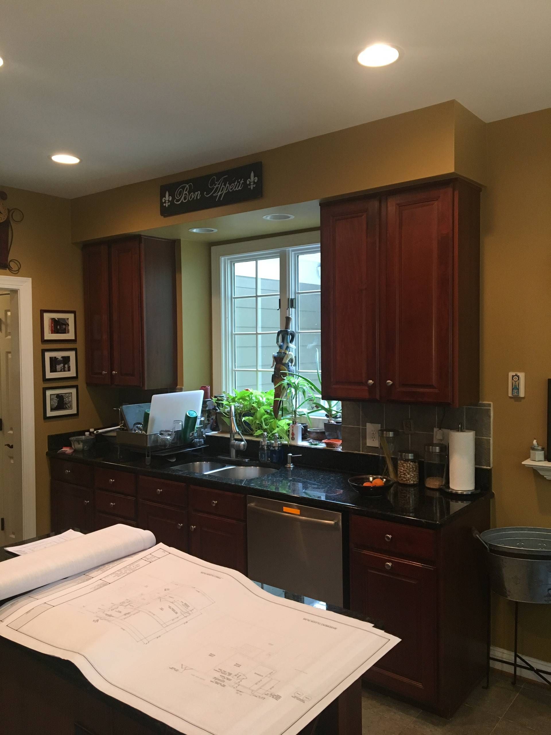 Gaithersburg White Transitional Kitchen