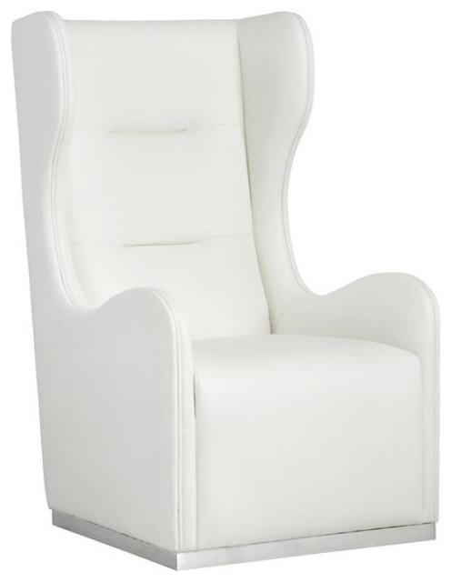 Madelena Swivel Chair White
