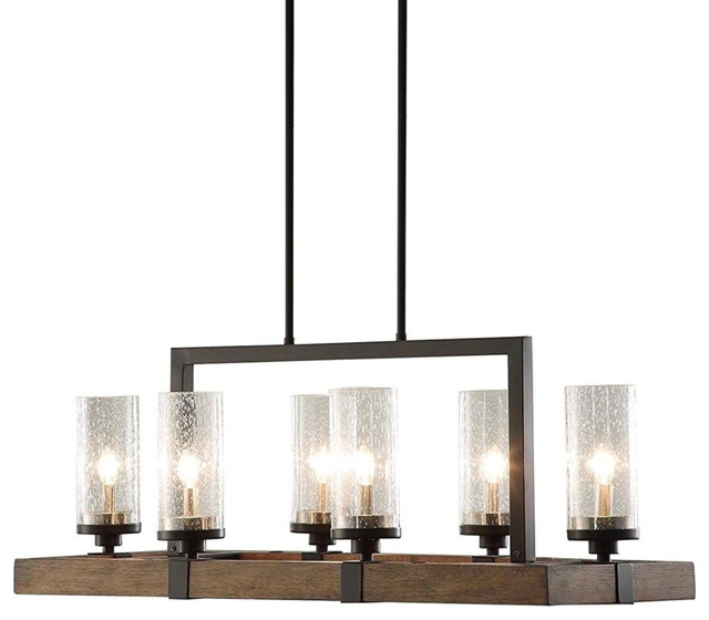 Beckett 6-Light Linear Pendant.