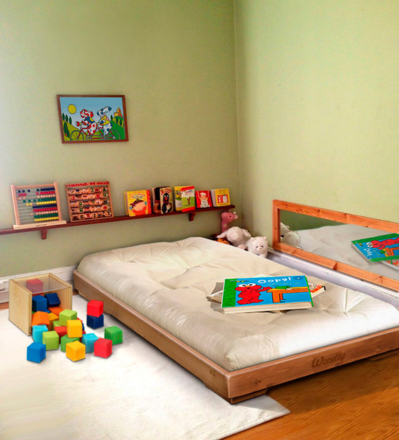 Montessori Floor Bed Contemporary Bologna By Woodly