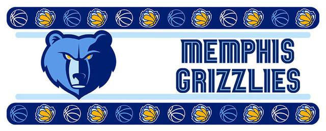Memphis Grizzlies Logo Wall Decal NBA Basketball Decor Sport Mural Vinyl Sticker