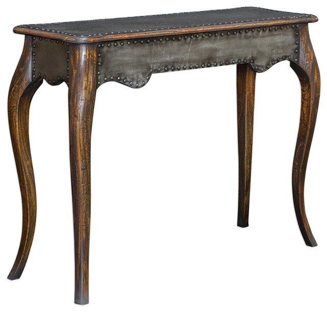 Roarke Industrial Console Table.