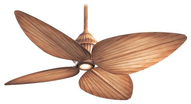"""Minka Aire Gauguin Bahama Beige 52"""" Outdoor Ceiling Fan."""