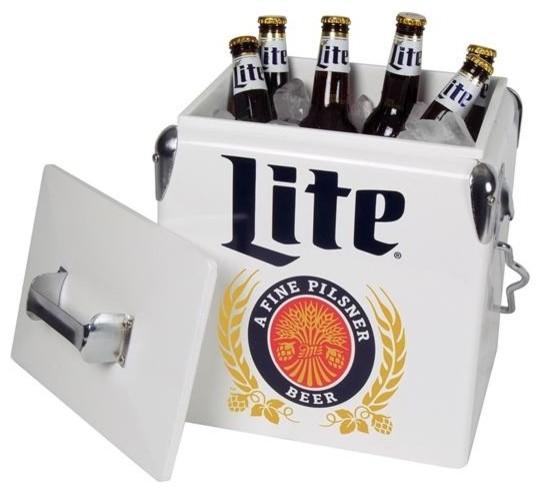Miller Lite 13l Ice Chest.