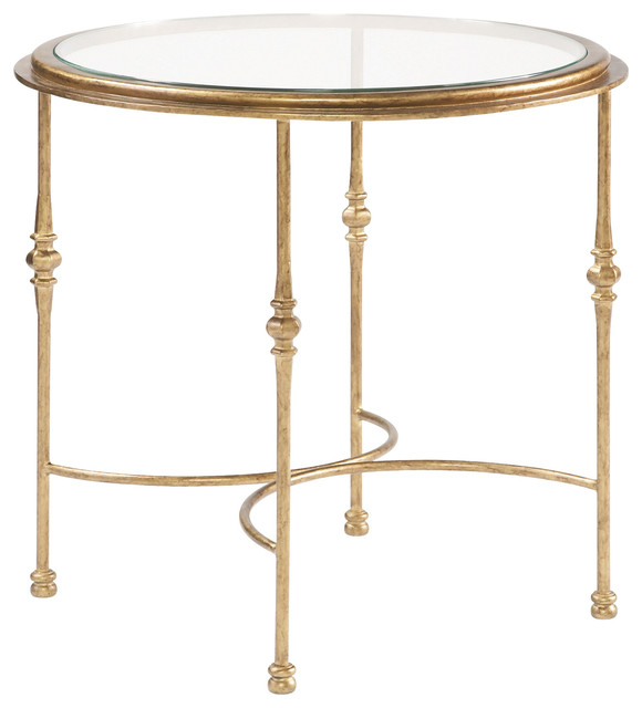 Sherrill Occasional Round End Table M29 30 Contemporary Side Tables And