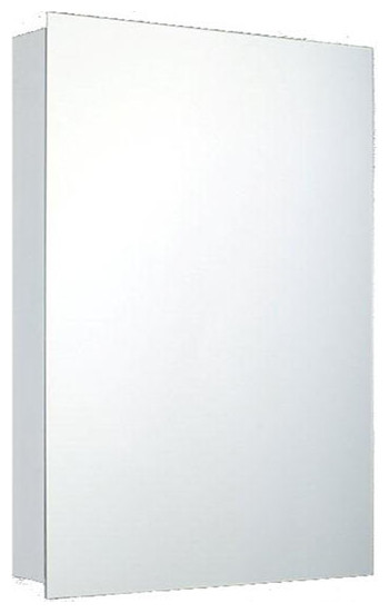 """Deluxe Series Medicine Cabinet, 14""""x20"""", Polished Edge, Surface Mounted"""