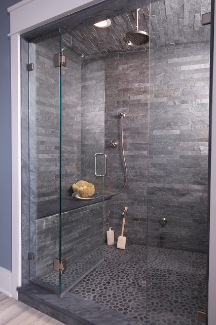 Connecticut Stone :: Bathrooms - Modern - New York - by Connecticut ...