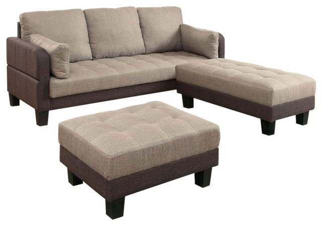 Ghent Multi Functional Sofa Futon And 2 Ottomans Converts To Bed