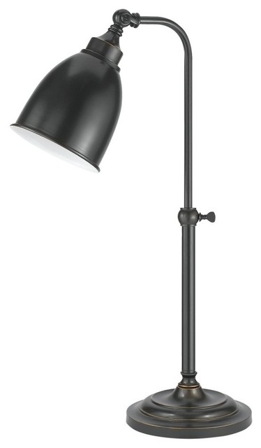 25 Dark Bronze Table Lamp With Shade Traditional Desk Lamps By Designer Lighting And Fan