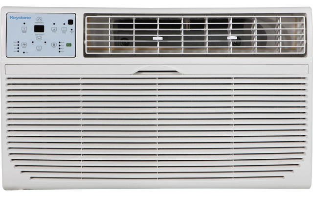 12,000 Btu Through-The-Wall Air Conditioner, 10,600 Btu Heat Capability.