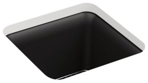 "Kohler K-8223-Cm1 15-1/2"" 1 Basin Bar Sink For Install With Basin Rack Included."