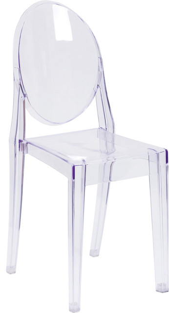 Ghost Side Chair, Transparent Crystal