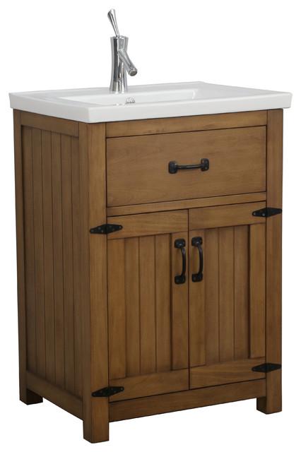 Legion Furniture Legion Gwen Vanity Weathered Brown Transitional Bathroom Vanities And Sink Consoles By Legion Furniture Houzz