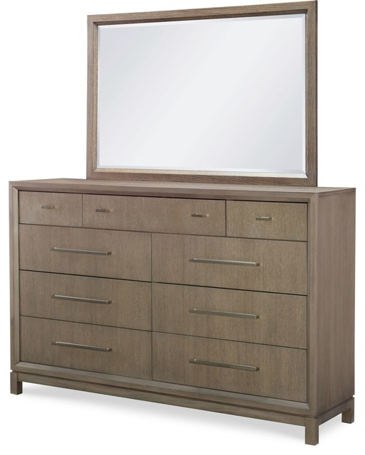 Rachael Ray Home Highline Dresser And Mirror.