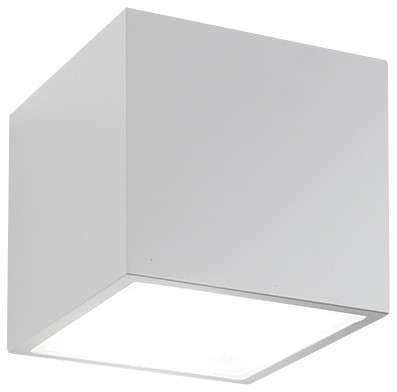 bloc led up and wall light modern outdoor wall lights and sconces by modern forms