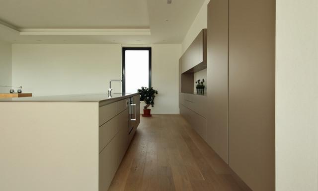 k che als wohnm bel modern k che m nchen von. Black Bedroom Furniture Sets. Home Design Ideas