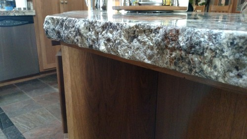 Quartz Countertop Corners What Granite Edge Did You Choose And Why