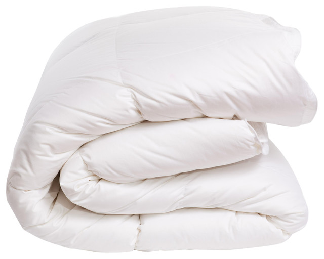 Hungarian Goose Feather and Down Duvet, Double