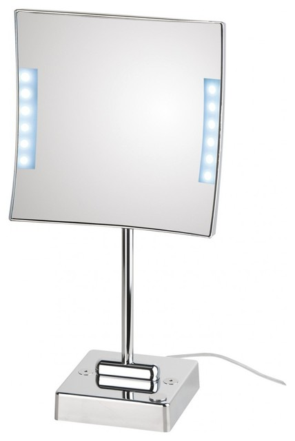 quadrololed 621 lighted magnifying mirror 3x
