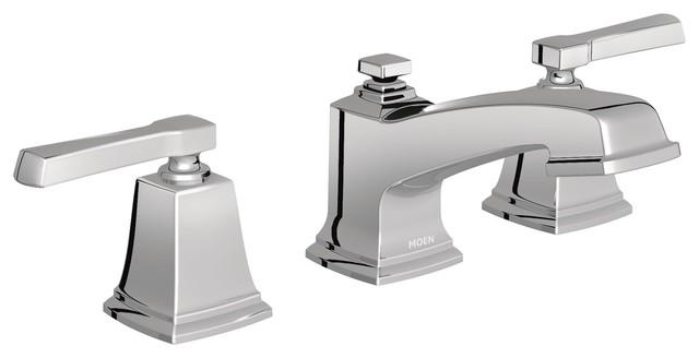 Moen Boardwalk Chrome Two-Handle Bathroom Faucet T6220