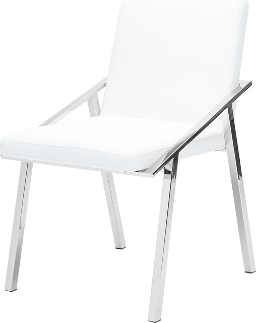 Nika Modern Dining Chair Contemporary Side Chair Faux Leather
