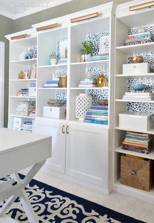 - Big Ol' Bookcase: IKEA Liatorp?