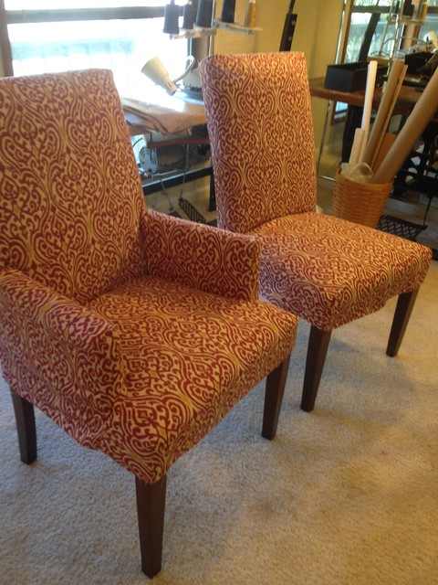 parson chairs slipcovers with duralee fabrics chairs