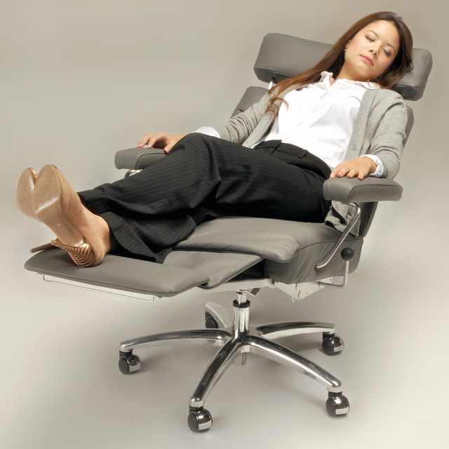adele executive recliner chair by lafer contemporary office chairs