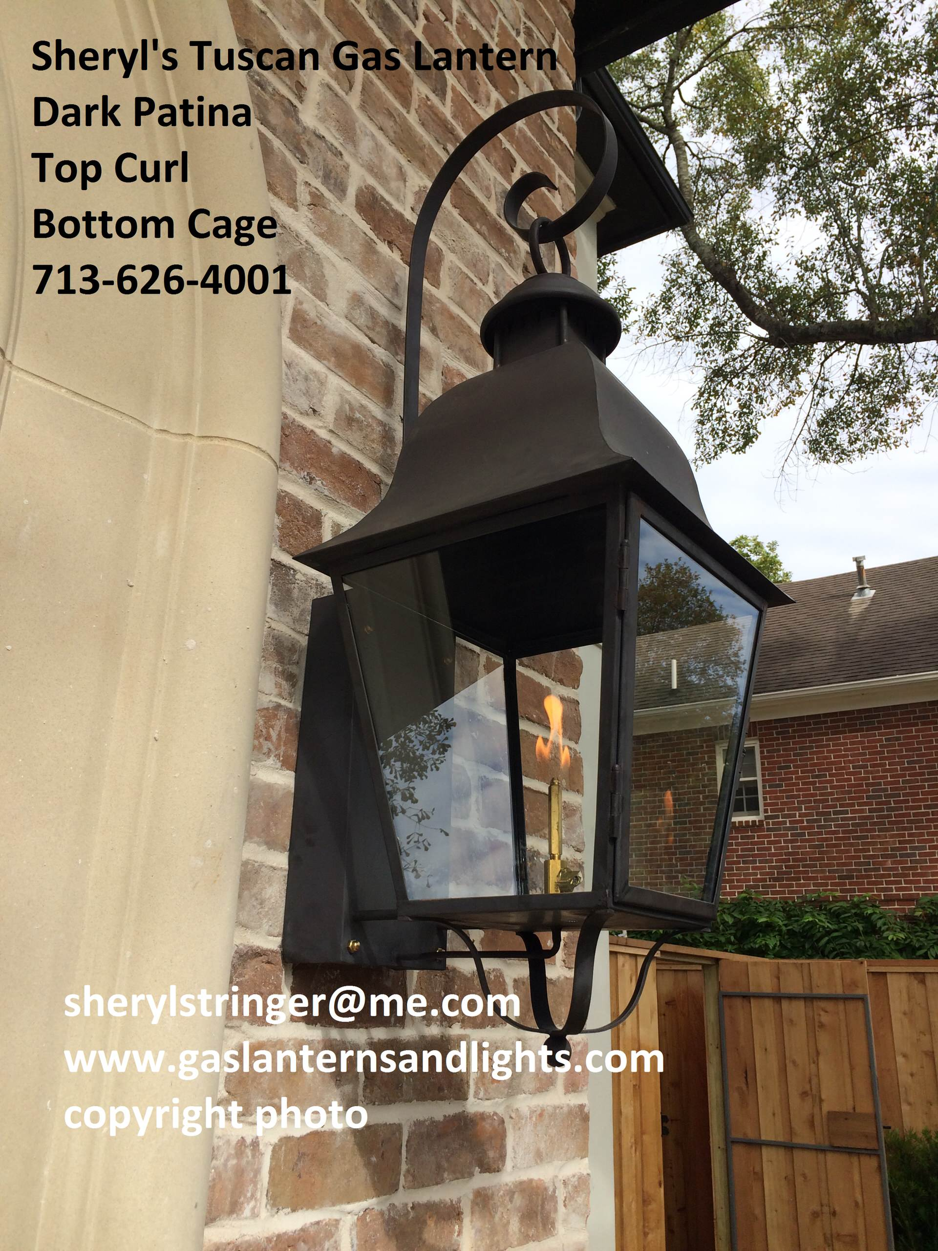 Sheryl's Tuscan Lanterns with Copper Curls