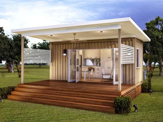 Monaco Granny Flats Prefab Container Home Modern