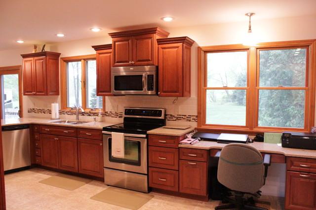 Kraftmaid Kitchen Latham Ny Traditional New York By Testo Kitchens Inc