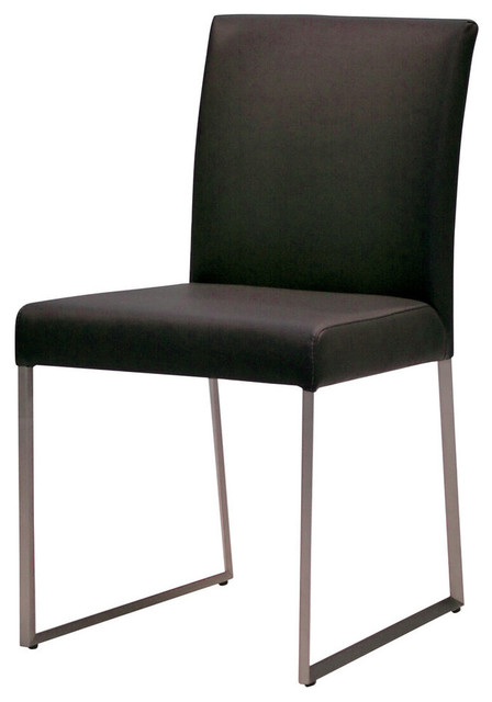 Tate Dining Chairs, Black, Set Of 2.