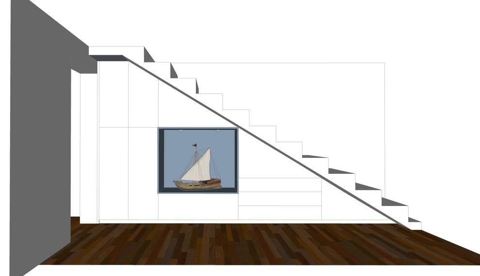 Entwurf: Einbauschrank mit Nische Flur Bild III